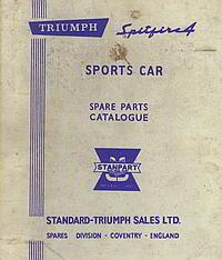 Triumph Car Parts manuals - Vitessesteve