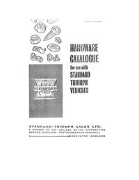 Standard Triumph Hardware catalogue