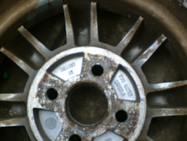 alloy wheel inner face
